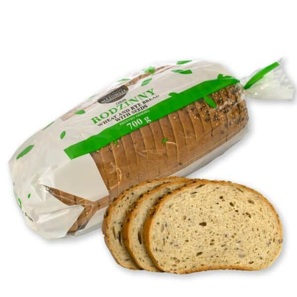 Family bread with seeds