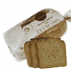 Chleb Żytni 100% - 600g zdjęcie